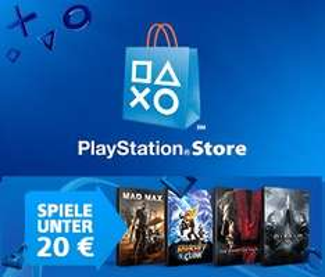 [PSN] Spiele unter 20€