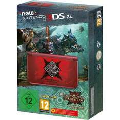 Nintendo New 3DS XL Konsole Rot inkl. Monster Hunter Generations [conrad]