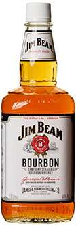 Jim Beam Weiß Kentucky Straight Bourbon Whiskey (1 x 1.5 l)  amazon 16,59€