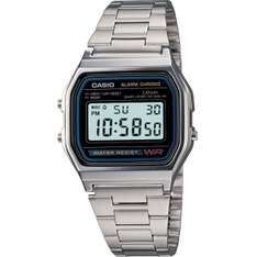 [ebay] Casio Collection Armbanduhr A158WA-1DF Silber 18,99 inkl. Versand