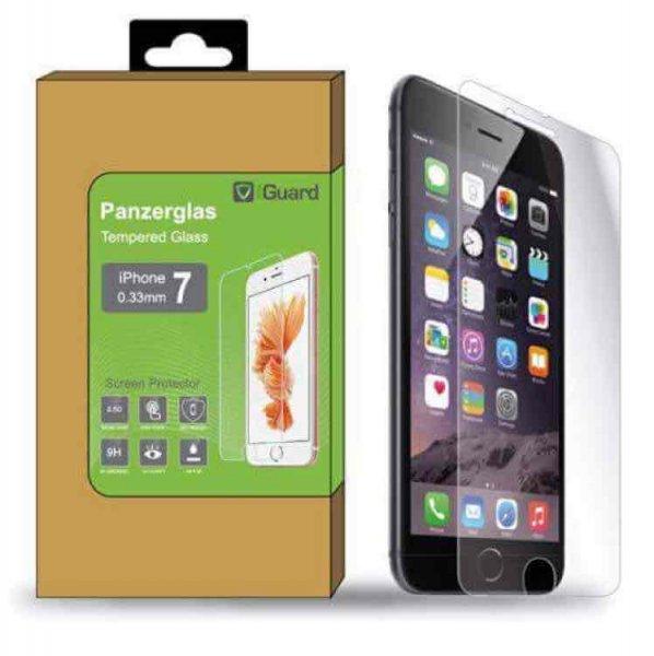 iGuard Panzerglasfolie klar für iPhone 7