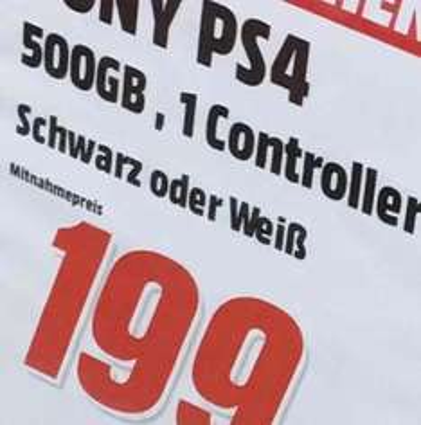 Sony PlayStation 4 500GB Weiß / Oststeinbek bei Hamburg verfügbar für 199,-  LOKAL