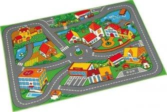 Spielteppich Stadt, 95 x 133 cm 9,99€ inkl. VSK statt PVG 13,81€