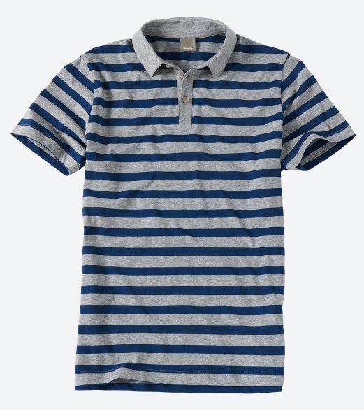 "BENCH.™ - Herren Polo-Shirt ""Pedrablanca"" (Grau/Blau) ab €9,15 [@Bench.de]"