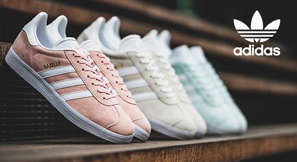 50% Rabatt auf alles bei Hoodboyz, damit z.B. Adidas Gazelle in allen Regenbogenfarben und in vielen Größen für 49,98€ (+VSK) statt ca. 73€, oder Nike Tavas für 64,89€