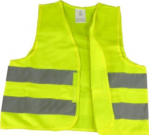 KFZ Warnweste (gelb, knitterfrei, waschbar) für 1,38€ inkl. Versand
