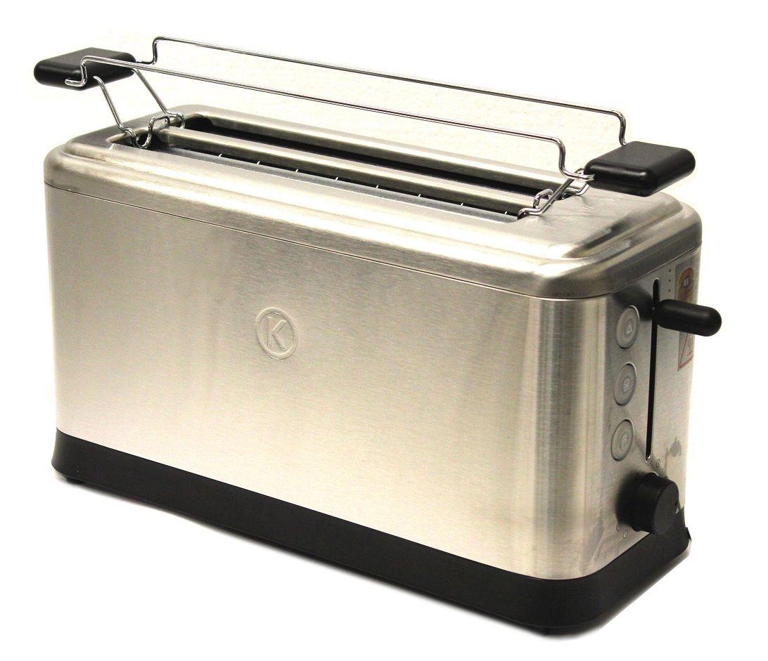 Kenwood TTM401 Edelstahl-Langschlitz-Toaster für 4 Toastscheiben mit Krümelschublade nur 32,48€ [Ebay]