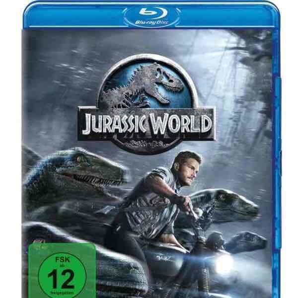[Amazon] Jurassic World Blu-Ray 5€