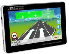 Takara GP63 Navigationsgerät (Touchscreen, 4,3 Zoll) (amazon.de)