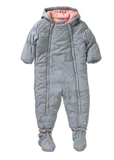 15% Rabatt auf ausgewählte Babymode und Schuhe bei [Mytoys] z.B. s.Oliver Baby Schneeoverall für 32,69€ inkl. VSK statt ca. 50€