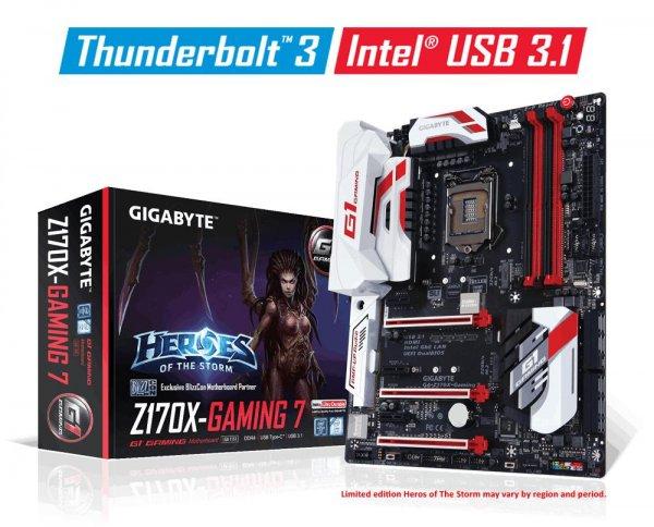 [Mindfactory] Gigabyte GA-Z170X-Gaming 7-EU Intel Z170 So.1151 Dual Channel DDR4 ATX Retail 172,21€ (per paypal)