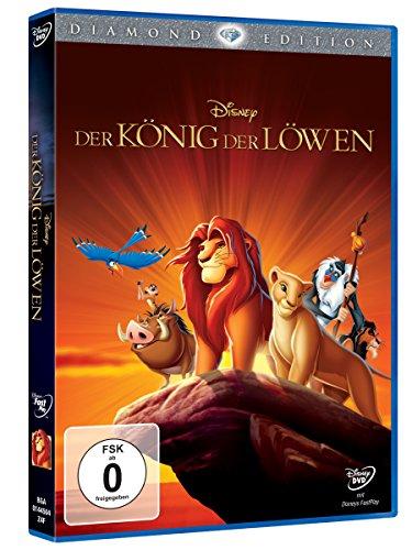 [Vorbestellbar] König der Löwen DVD (Diamond Edition), Lieferung am 27.10.2016 / 70% Ersparnis / DVD für 14,99€ / BluRay für 18,99 €