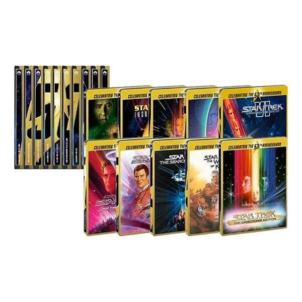 Star Trek 50th Anniversary 10 Blu-ray Steelbooks für 82,72€ bei Amazon.it