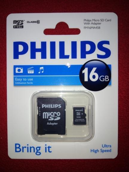 (Lokal Kaufland Worms WEP) Philips Micro SDHC 16 GB CLASS 10 für 1,24 € im Abverkauf.