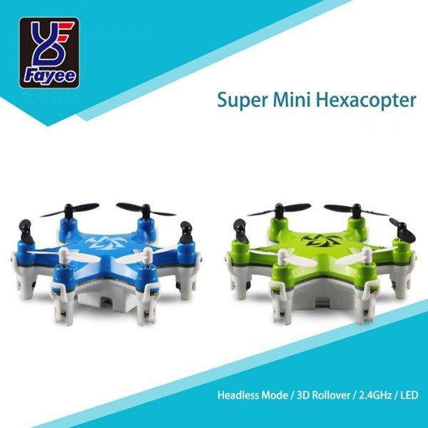 [Banggood] Fayee FY805 - Kleinster Hexacopter der Welt