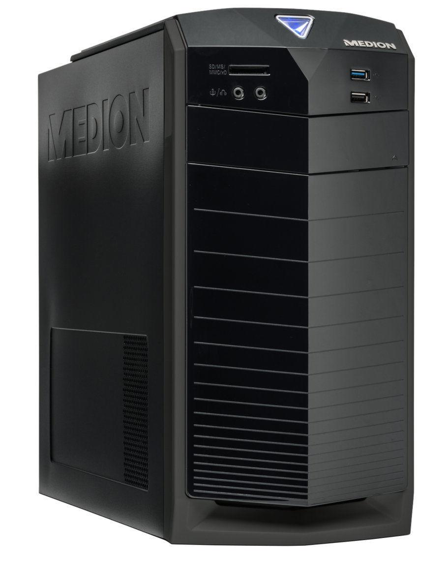 MEDION AKOYA E2217 DR - Intel Pentium G3250; GeForce GTX 750; 4GB RAM, 1TB und Windows 10 für 279,99€ bei Medion