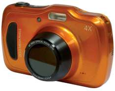 MEDION LIFE S44080 MD 87280 wasserdichte Digitalkamera 20MP 4x opt. Zoom orange für 66,66€ @ebay.de (Medion Neuware!)