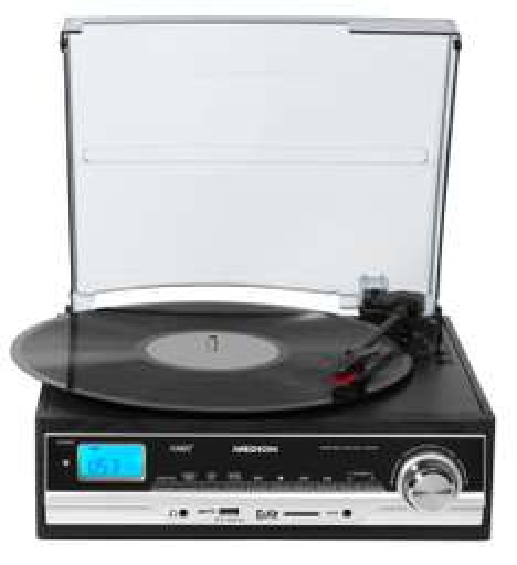 MEDION E69216 Schallplatten- und Kassettendigitalisierer USB Umwandlung MP3,