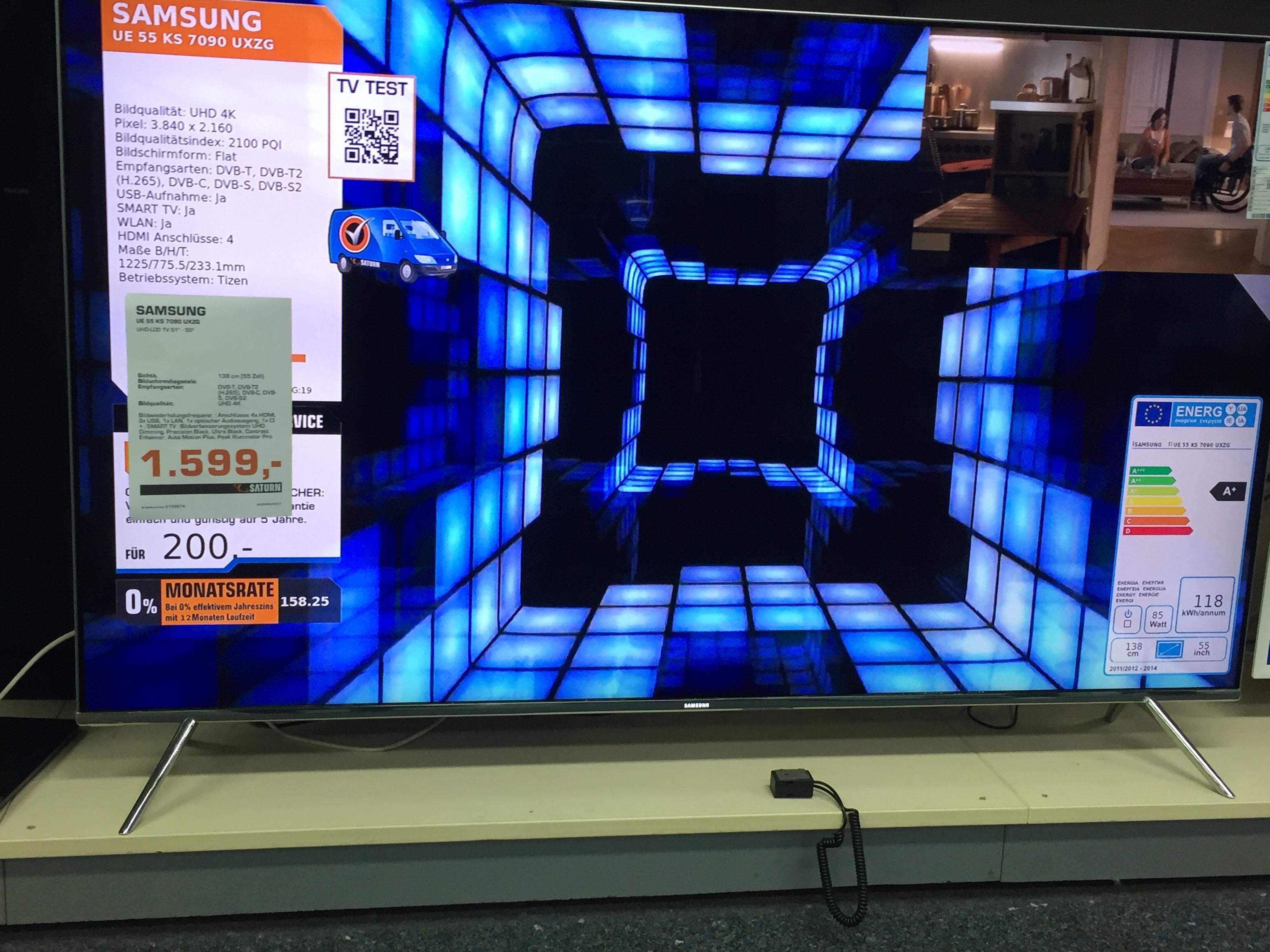 Samsung 55 KS 7090 UXZG   1439€