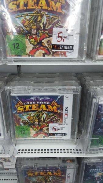 codename s.t.e.a.m (Nintendo 3DS) - Saturn HH Hbf