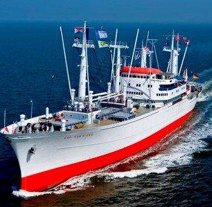 """[lokal Hamburg] Freier Eintritt auf/in das weltweit größte fahrtüchtige Museums-Frachtschiff """"Cap San Diego"""""""
