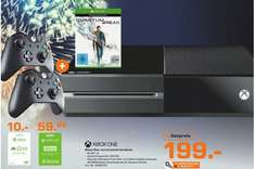 [Lokal Saturn Koblenz] Mi­cro­soft Xbox One 500GB black Bundle inkl. Quan­tum Break und Alan Wake + 2.Controller für 199,-€