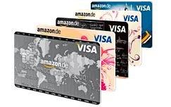 Amazon.de VISA Karte mit 60 € Startgutschrift