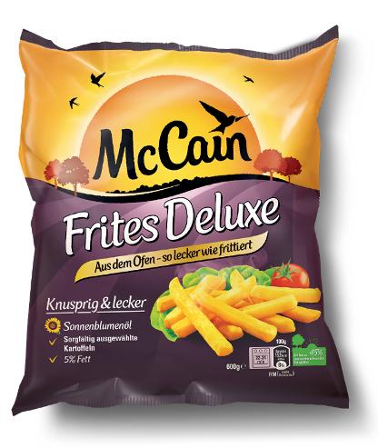[Marktkauf und Edeka Rhein-Ruhr] McCain Frites Deluxe 600g für nur 0,29€ (Angebot+Coupon)