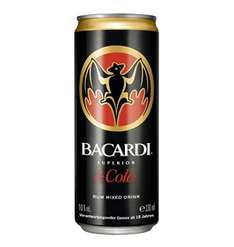 Bacardi Superior Rum & Cola 10 % Vol., 330 ml