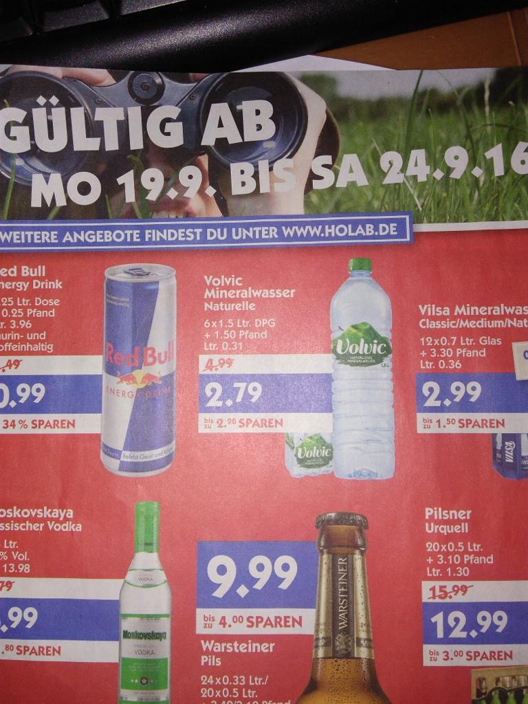 Volvic Naturelle 6x1,5l für 2,79€ zzgl. Pfand (0,31€/Liter) - Hol Ab Märkte Norddeutschland