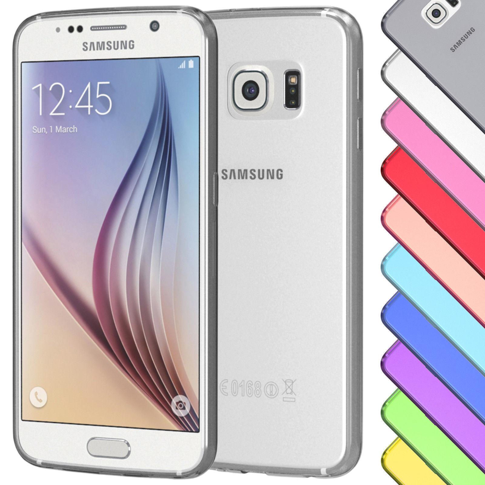 HANDYHÜLLE Schutz Hülle  Silikon  Case versch. Farben für iphone,Samsung ...  @ebay 1,99€