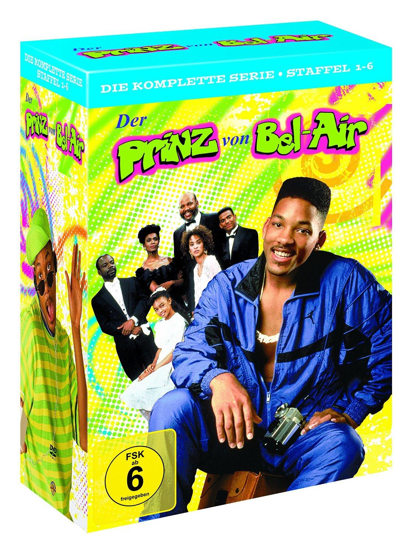 Der Prinz von Bel-Air – Die komplette Serie (Staffel 1-6 Limited Edition) (23 DVDs) für 29,97€ [Amazon]