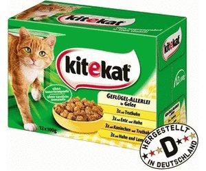 [Kaufland] kitekat PRO 12x 100g (Portionsbeutel) Katzennahrung in Sauce + 50g Trockenfutter mit Coupon für 0,99 statt 2,69 - 3,49 €