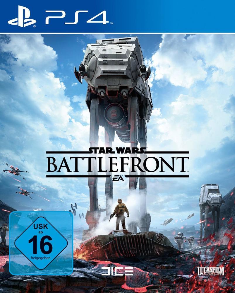 Star Wars: Battlefront (PS4 / XBO) + 5€-Füllartikel für 19,45€ [Conrad]