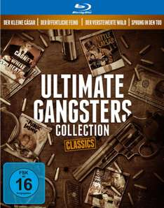 Gangster Classics Collection (1931-1949) (Bluray) für 14,97€ [Amazon Prime]