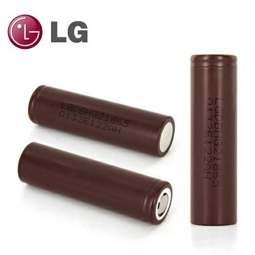LG INR18650-HG2 3000mAh Li-Ion Akku