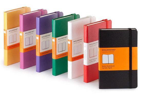Notizbücher für all` eure Geistesblitze bei Moleskine mit bis zu 50% Rabatt + 10% on top + gratis Versand