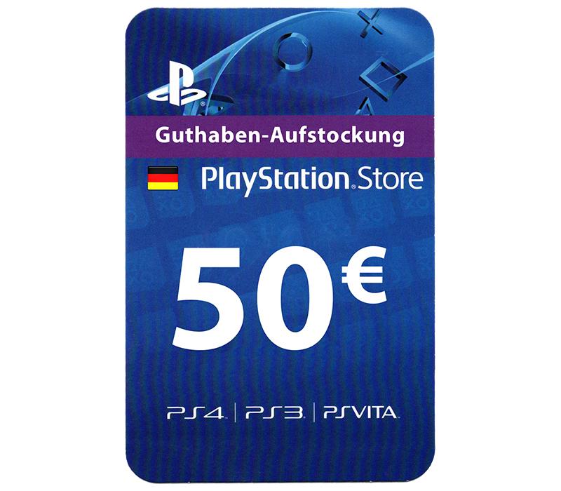 PSN 50€ für 44,64€ (Deutscher Store)