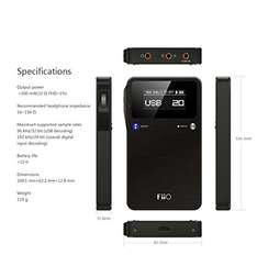 FiiO E17K Alpen 2 DAC KHV 124,58€ Amazon.it Marketplace