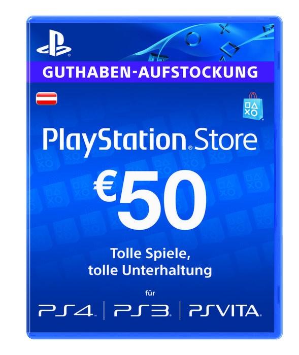 50€ PSN Guthaben für den AT-Store für 41,79€ @Cdkeys