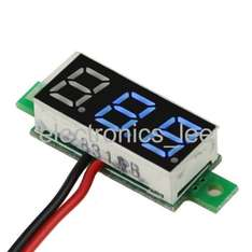 Gratis Mini Voltmeter 2,5-30V