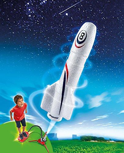 [Amazon - Plus Produkt] PLAYMOBIL 6187 - Rakete mit Spring-Booster