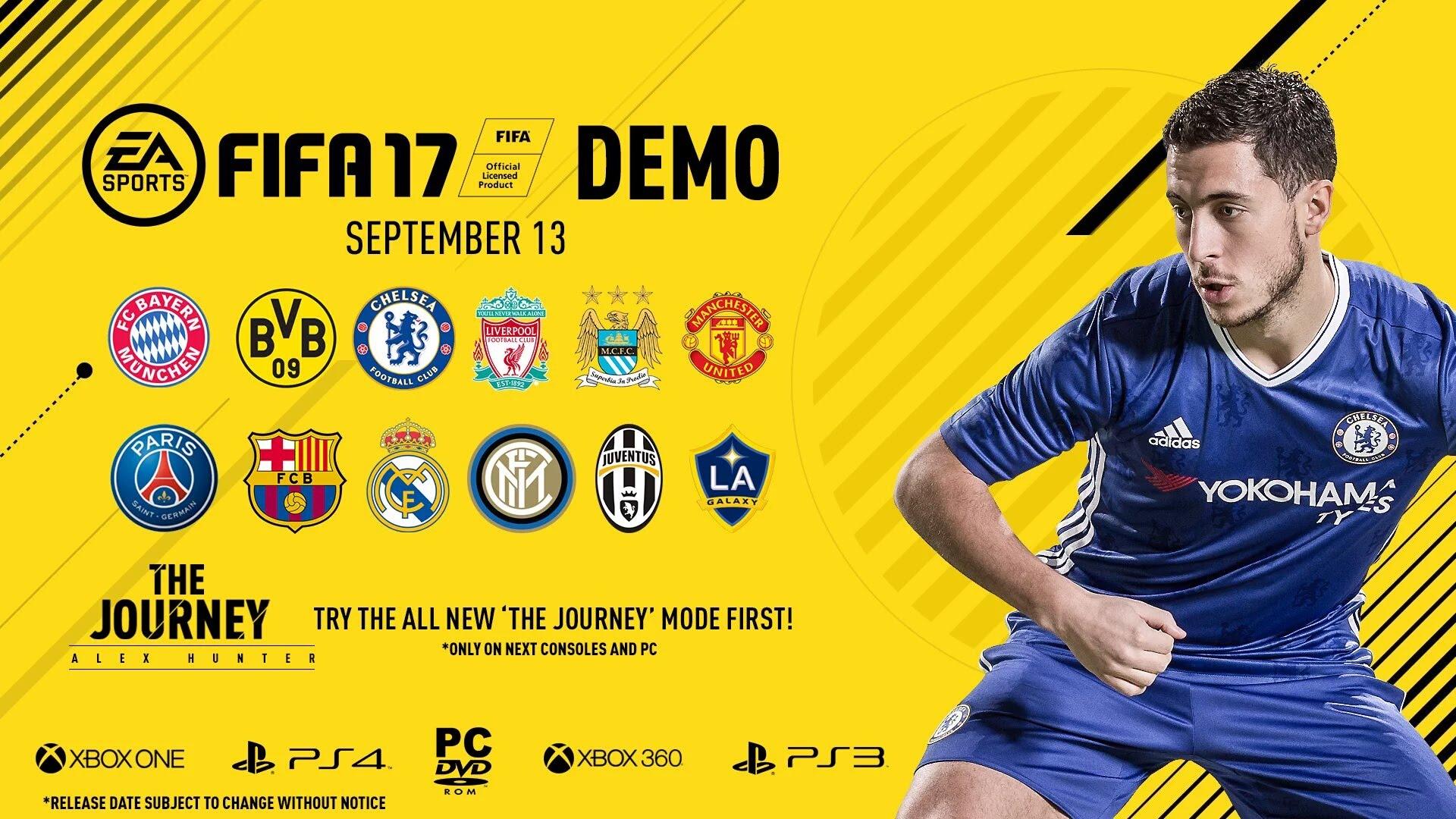 Demo für Fifa 17