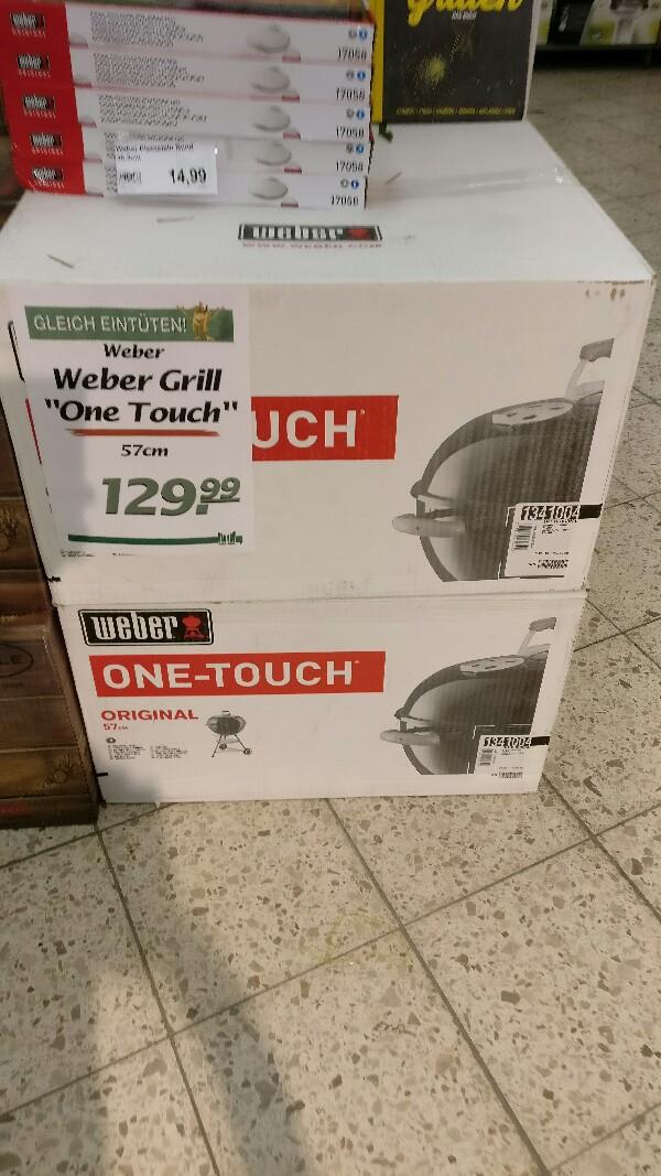Lokal Nordhorn Weber One Touch 57cm Kugel