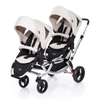 ABC DESIGN Geschwisterwagen Zoom sheep inkl. 2 Sportwagenaufsätze für 299,99€ bei [babymarkt] statt 450€