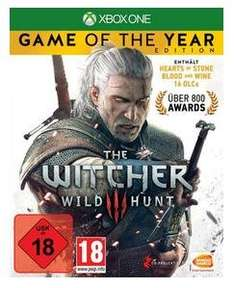 (Xbox Store Indien) The Witcher 3: Wild Hunt - Game of the Year Edition (Xbox One) für 11€