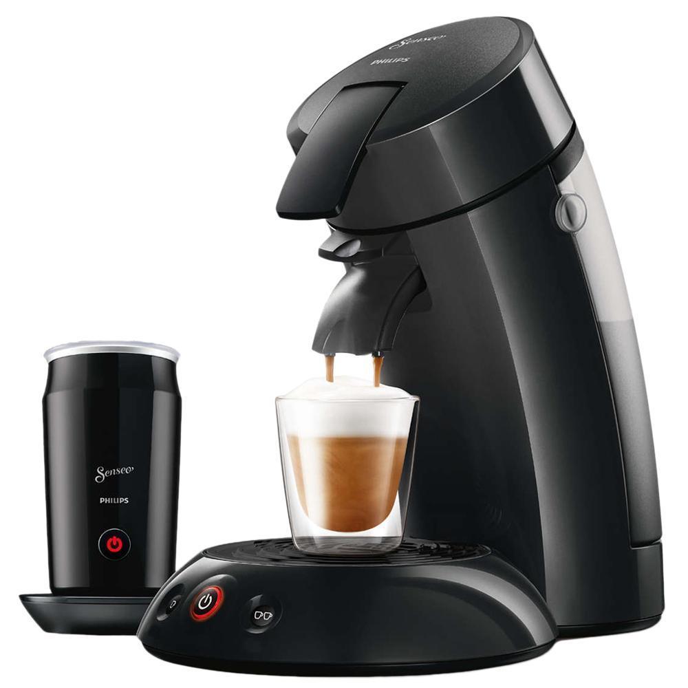 Philips Senseo Original & Milk HD7819/60 für 69€ - Kaffeepadmaschine mit Milchaufschäumer