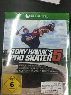 [MM Bayreuth] Tony Hawks 5 Xbox One 5€ PS4 500GB 199€