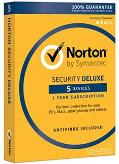 [Amazon.com] Norton Security Deluxe 5 Geräte Download Code