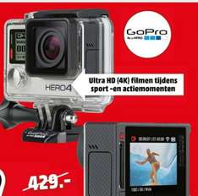 Gopro Hero4 Silver  für 333.-€